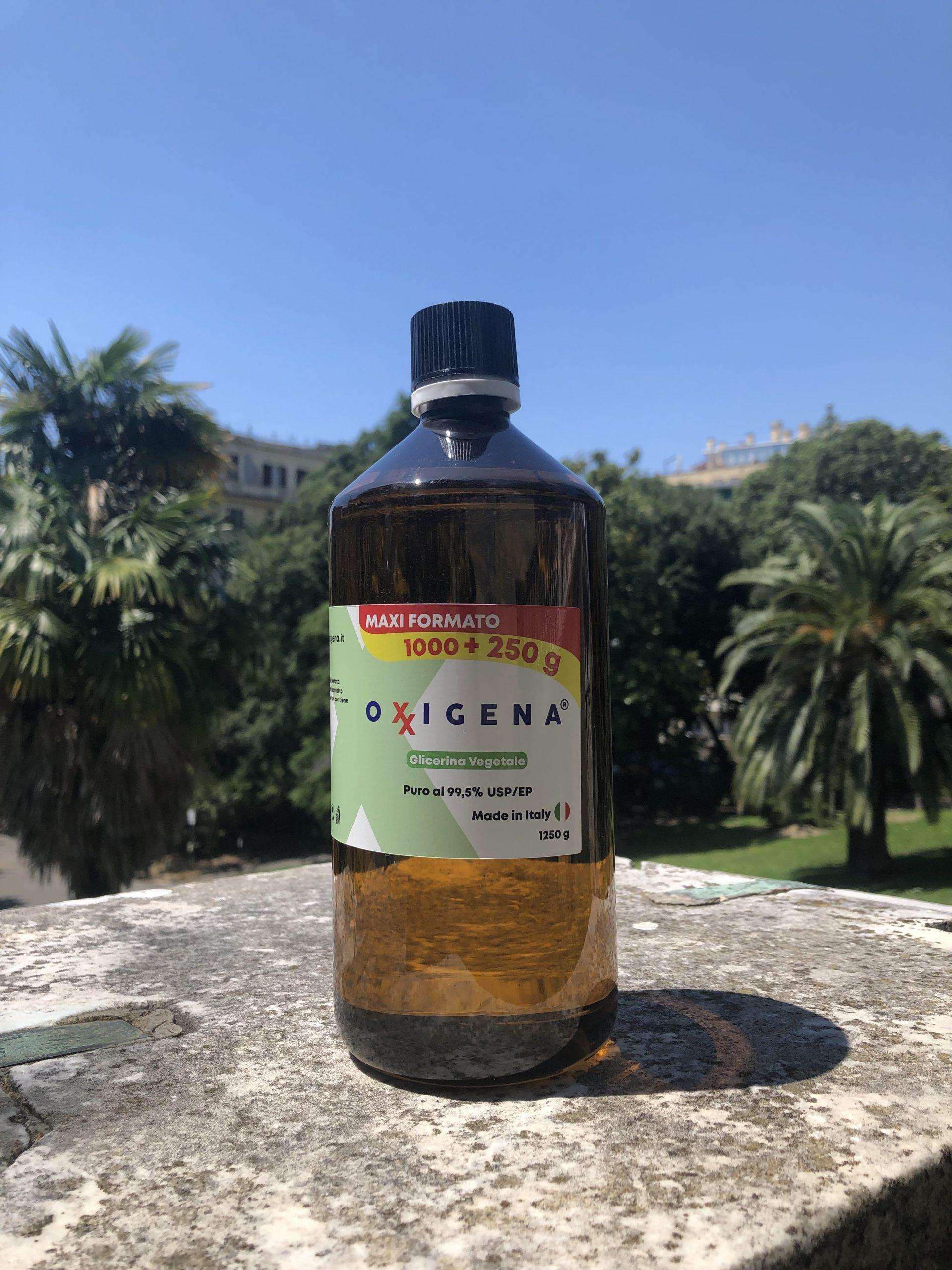 Glicerina Vegetale USP/EP (Glicerolo) – 1L (1000g + 250g)