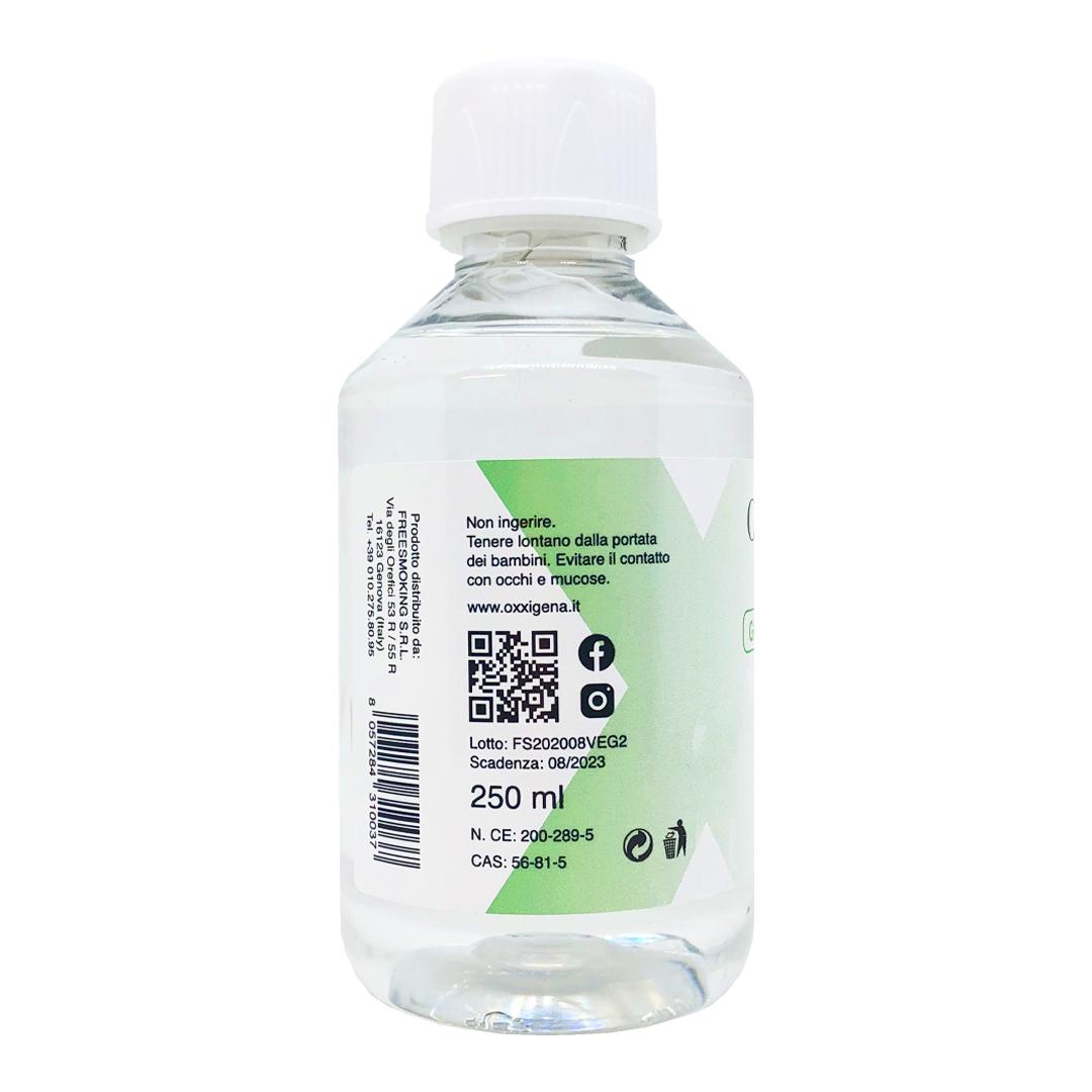 Glicerina Vegetale (Glicerolo) Liquida Pura 250 ml