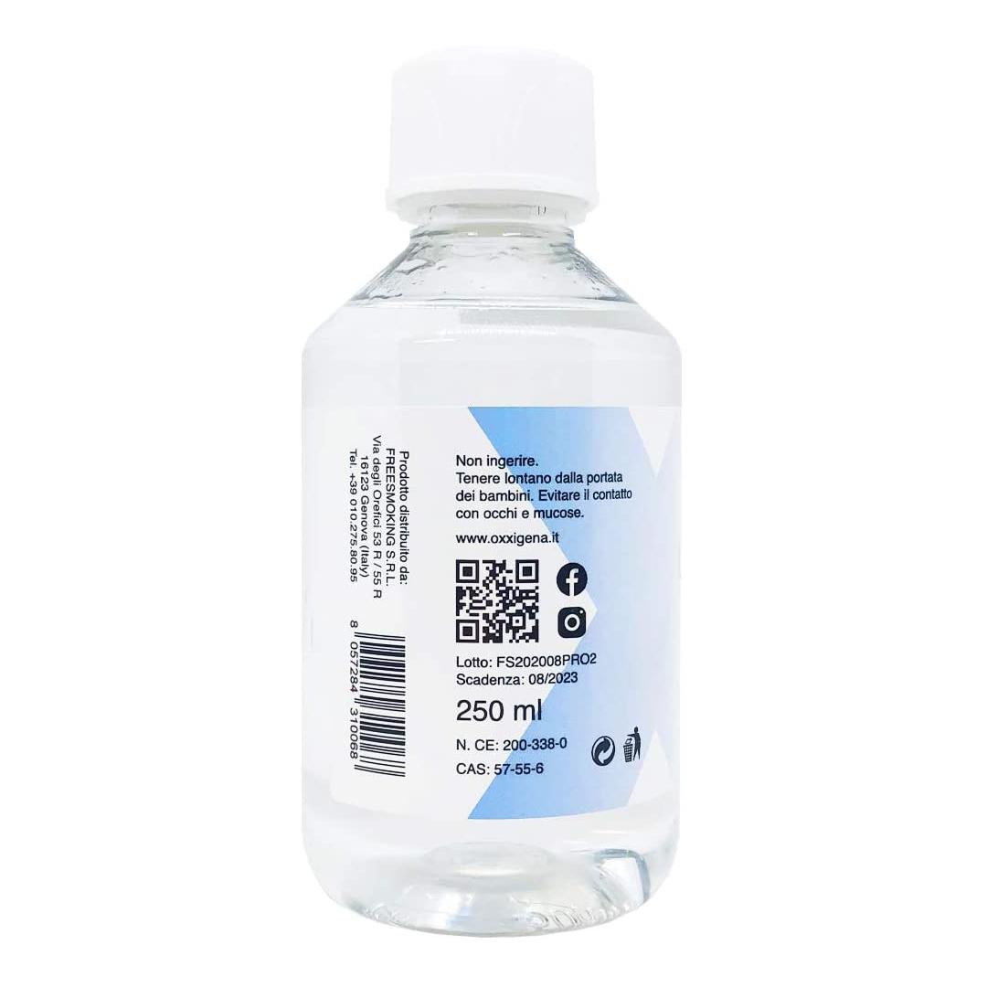 Glicole Propilenico Liquido 250 ml Adatto Per Lo Svapo
