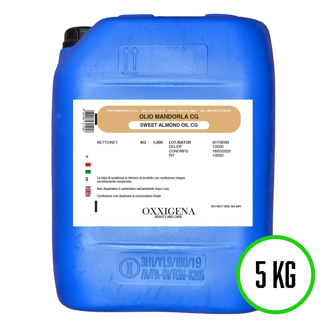 Olio di Mandorle Dolci 100% Puro – 5 KG – Vegan – Senza OGM
